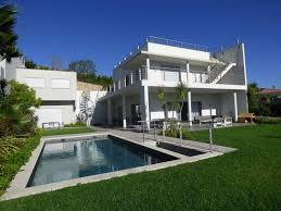 2 storey modern villa with garden and pool for sale in the