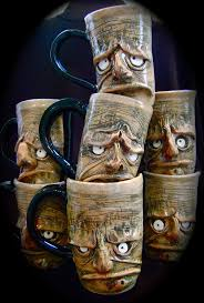 20 best scary and unique coffee mugs images on pinterest unique