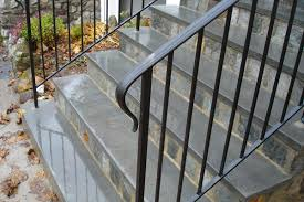Iron Handrail For Stairs Traditional Railings Custom Ironwork Located In Connecticut