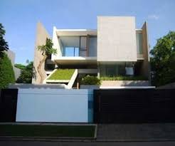 Best ASian Modern Villas Images On Pinterest Villas Facades - Modern green home design