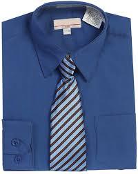 boys royal blue dress shirt