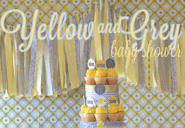yellow baby shower ideas yellow and grey baby shower birthday express
