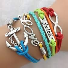 anchor bracelet charms images Faith love anchor bracelet antique silver charm bracelet at rs jpg