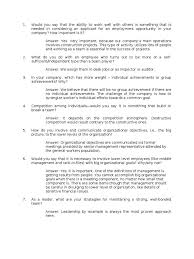 interdependence questions goal employment