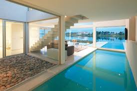 pool inside house vanguarda architects contemporary pool other by vanguarda