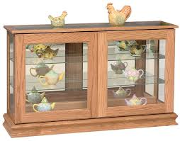large curio cabinet from dutchcrafters amish furniture