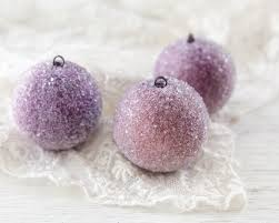 sugar plum ornaments set of 3 ornament