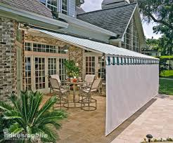 Images Of Retractable Awnings Retractable Patio Awnings Mike U0027s Mobile Screen U0026 Chimney Service
