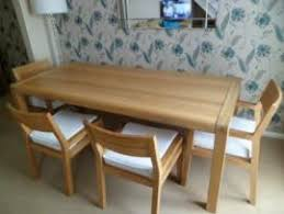 Habitat Dining Table Transport My Large Habitat Radius Solid Oak Dining Table Bench To