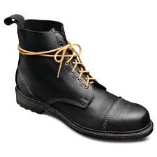 mens lace up motorcycle boots normandy lace up derby boot by allen edmonds