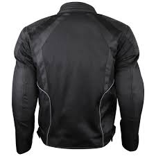 motorcycle suit mens mens black mesh motorcycle jacket with ce armor jafrum