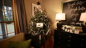 xmas tree on table decorative tabletop christmas trees better homes gardens