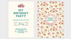 how to make birthday invitation card