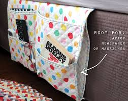 Armchair Sewing Caddy Pattern How To Bedside Gadget Caddy And Stuff Organiser Bedside Caddy