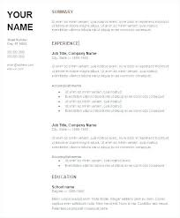 attractive resume templates resume templates free docs