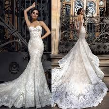 mermaid style wedding dress custom made new mermaid style wedding dresses 2017 backless