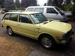 toyota corolla station wagon for sale toyota corolla station wagon 1973 yellow for sale te28553670 1973