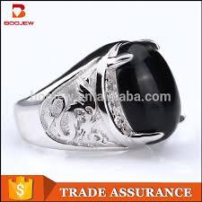 aliexpress buy mens rings black precious stones real saudi arabia fashion animal pattern oval black
