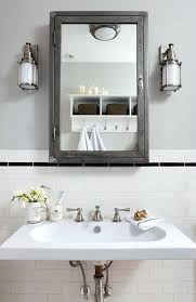 White Bathroom Medicine Cabinet Wall Mounted Cabinets For Bathrooms Airpodstrap Co