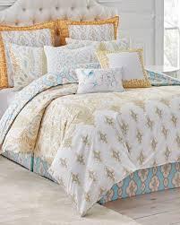 Neiman Marcus Bedding Dena Home Bedding Comforter Set U0026 Duvet Cover At Neiman Marcus