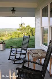Country Song Rocking Chair The Red Feedsack What I U0027ve Learned About Porches In The South