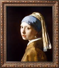 painting girl with the pearl earring girl with a pearl earring 2003 framed print by johannes