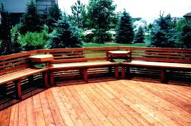 how to build deck bench seating build deck benches angreybearblog com