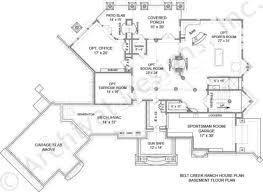 belt creek ranch lakefront floor plan luxury floor plan belt creek ranch house plan