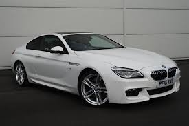bmw 6 series for sale uk 2016 16 bmw 6 series 640d m sport 2dr auto