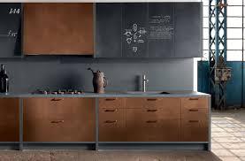 Copper Kitchen Cabinets   copper kitchen cabinets modern kitchen new york by aster cucine