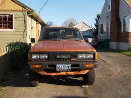 slammed nissan truck the street peep 1985 datsun 720