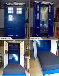 Tardis Bookcase For Sale Up For Auction Dr Who Tardis Murphy Bed Tardis Murphy Bed And