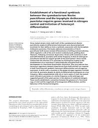 microbiology society journals establishment of a functional