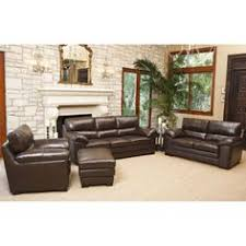 austin top grain leather sectional with ottoman austin 4 piece top grain leather set new house pinterest house