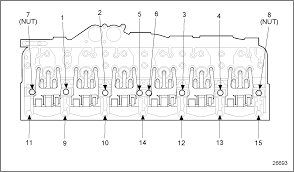 cummins isx bolt torque chart ro6 ru