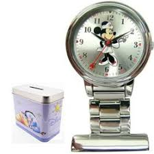 amazon disney minnie mouse nurse watch fob htf watches