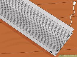 How To Shorten Vertical Blinds To Fit Window How To Cut Blinds 12 Steps With Pictures Wikihow