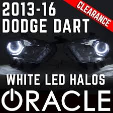 halo light installation near me 2013 2016 dodge dart hid headlights oracle white led halo kit pre