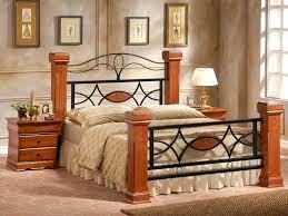 wooden bed frame king size frame decorations