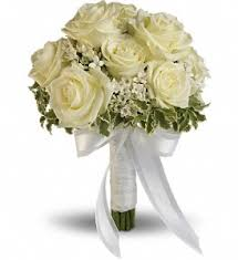 white bouquet wedding flower delivery northern oh ken s flower shops