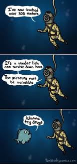 Fish In The Sea Meme - deep sea comics