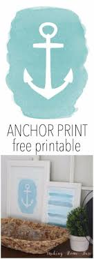 The 25 Best Anchor Print - 75 best free printables for your walls diy joy