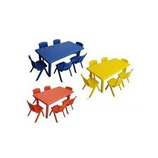 kids furniture rectangle kids table manufacturer from indore