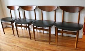 Mid Century Modern Dining Chair Set By Lane Picked Vintage - Lane furniture dining room