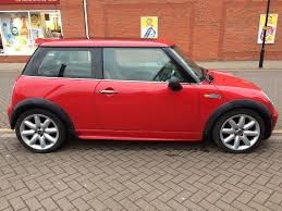2002 red mini cooper 2 months warranty service 12 months mot
