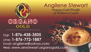 Organo Gold Business Cards Dacameron Printing U0026 Graphic Design Service