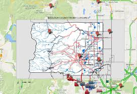 Flood Map Boulder Flooding Map Weather Warnings Road Conditions Shelter