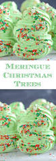 meringue christmas trees u2013 the novice chef