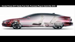 honda hydrogen car price honda prices 2017 clarity fuel cell promises in hybrid by