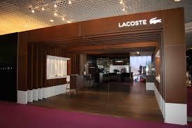 lacoste siege un stand digne de la légende lacoste au tfwa 2014 exhibit